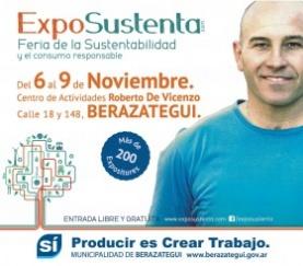 expo feria nacional sustentable en Berazategui