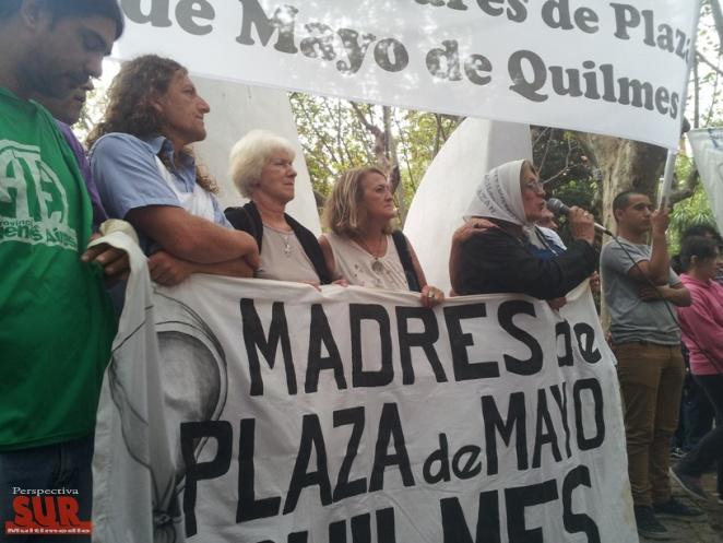 Homenaje a Madres de Quilmes en Plaza San Mart�n y el Teatro