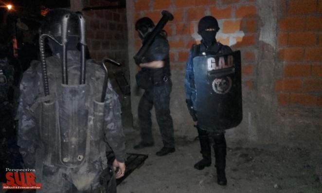 Cuatro detenidos por robo en Varela