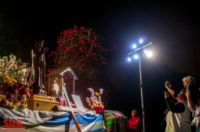 Varela vivió con emoción la canonización de Cura Brochero