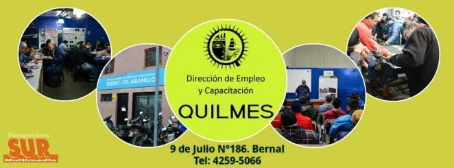 La oficina de empleo y capacitación de Quilmes recibe currículums vitae