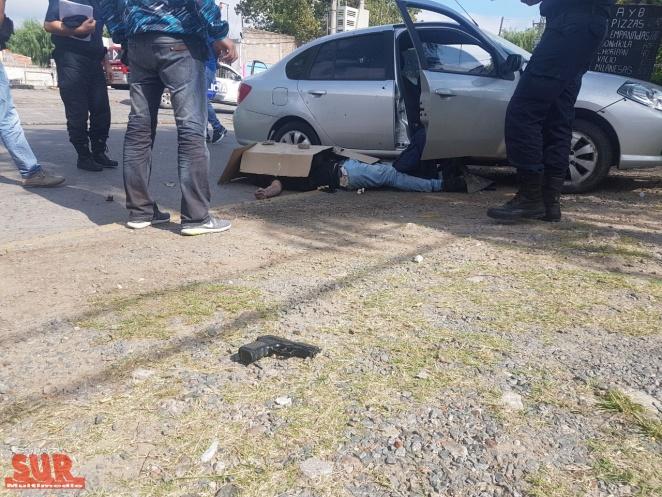 Un delincuente fue abatido tras un tiroteo en la Ribera de Quilmes