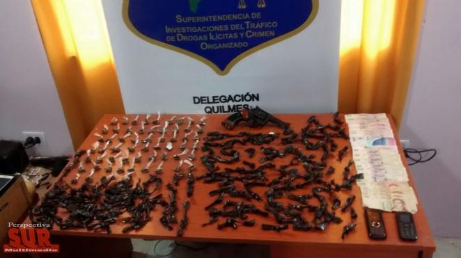Cuatro allanamientos por venta de marihuana en Florencio Varela
