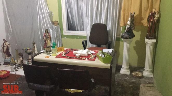 Pareja de mae umbandas detenidas por el crimen de la kiosquera asfixiada