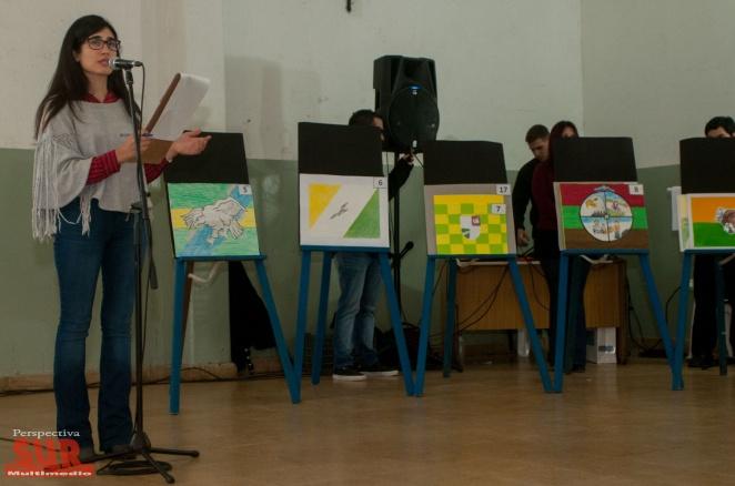 Florencio Varela elige su bandera: Alumnos proponen 4 bocetos