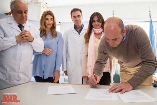La Asociación Conciencia donó equipamiento médico al Hospital de Quilmes