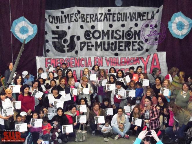 """Cierre del proyecto """"Promotoras territoriales en Prevención de la violencia contra las Mujeres"""""""
