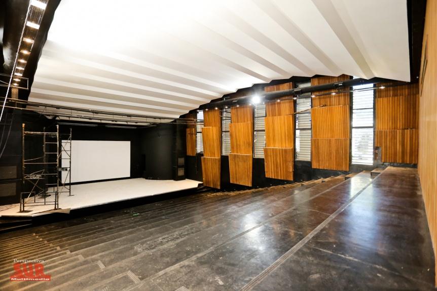 �ltima etapa de los trabajos de remodelaci�n del Centro Cultural Rigolleau