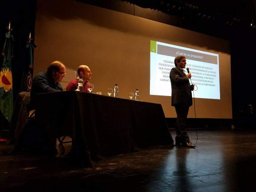 Lanzaron la Red P�blica de Salud AMBA en Quilmes