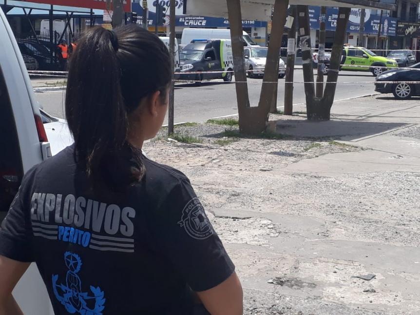 Hallaron granada anti incendios  y provoc� inquietud en Solano