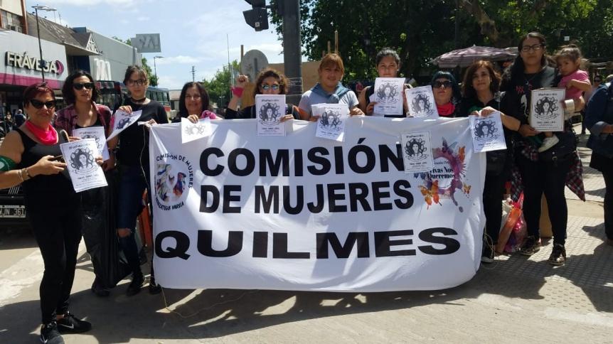 Mujeres de Quilmes reclamaron por justicia en el caso de Luc�a P�rez