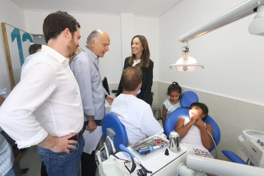 Vidal y Grindetti inauguraron obras en un centro de medicina preventiva