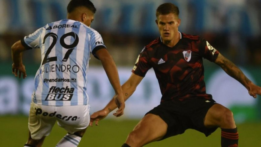 River le gan� a Atl�tico (T) y entr� a zona de Copa Libertadores