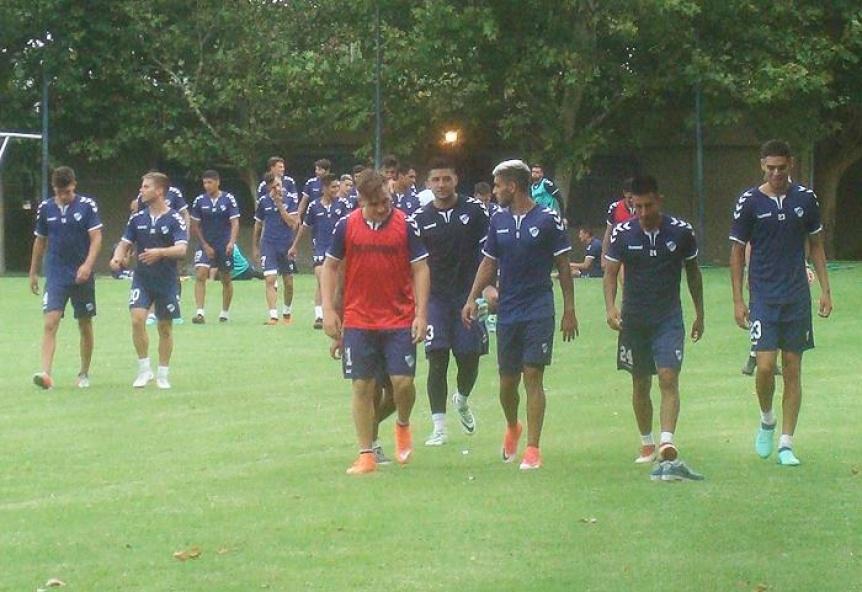 Quilmes empezó la semana con tareas técnicas y jugadores recuperados