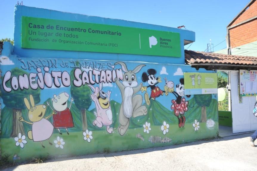 Abrió una nueva casa de encuentro en Lomas de Zamora