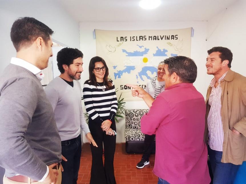 Varela: Inauguraron de consultorios m�dicos para veteranos de Malvinas