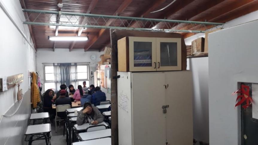 La Escuela Secundaria 41 espera construcción de aulas