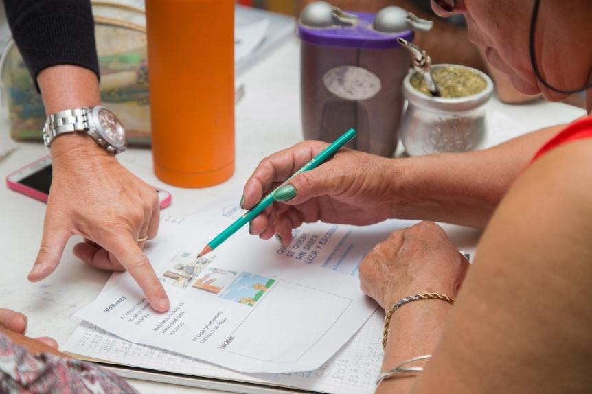 Berazategui: Nueva convocatoria para sumarse a alfabetizar
