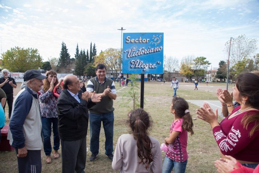 M�s plazas renovadas en Berazategui con juegos nuevos, luces led y sendas aer�bicas