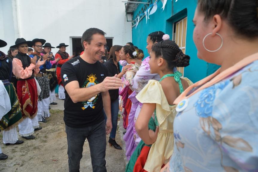 La Casa del Folclore se vistió de fiesta para conmemorar el 25 de Mayo