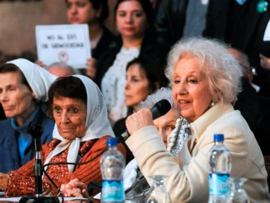 Abuelas de Plaza de Mayo anunci� la restituci�n del nieto 130