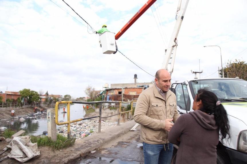 Nuevo operativo de limpieza en el Arroyo Las Piedras