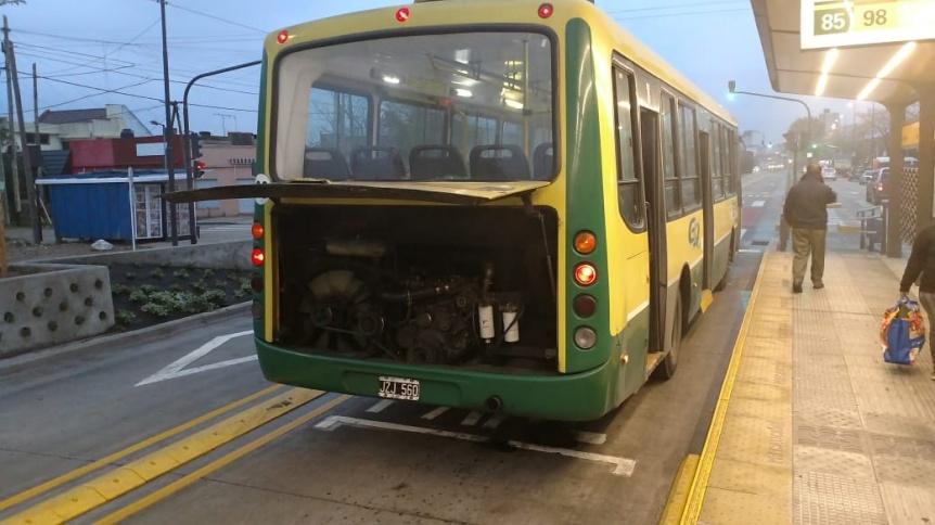Debut del operativo de emergencias en el Metrobus Quilmes