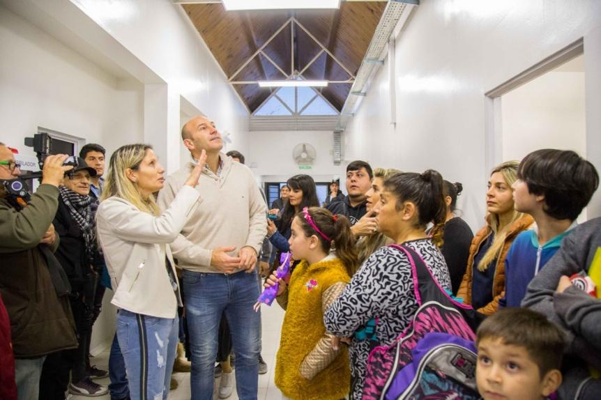 """Molina presentó las obras de remodelación del Centro de Atención Primaria """"San Martín"""" de la Red AMBA"""