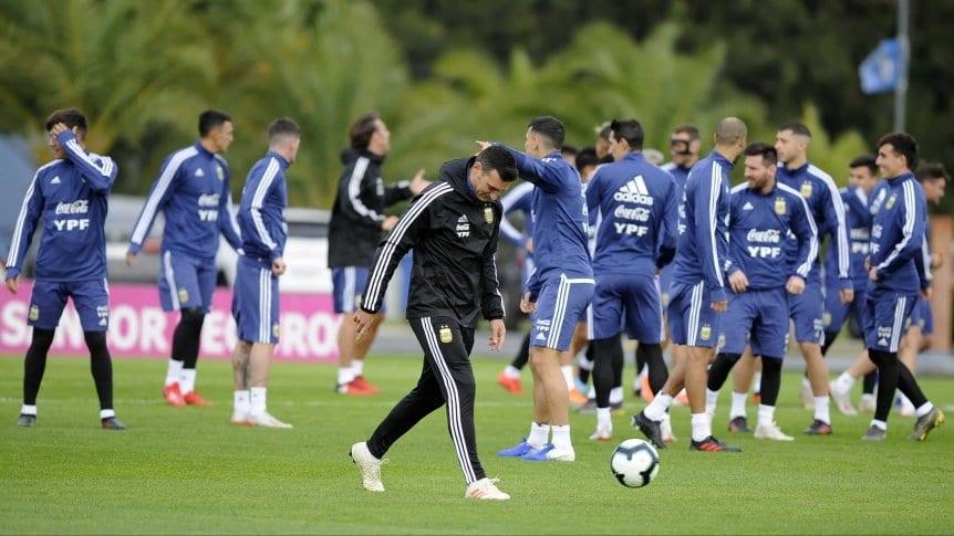 Lionel Scaloni define hoy los titulares para el debut ante Colombia