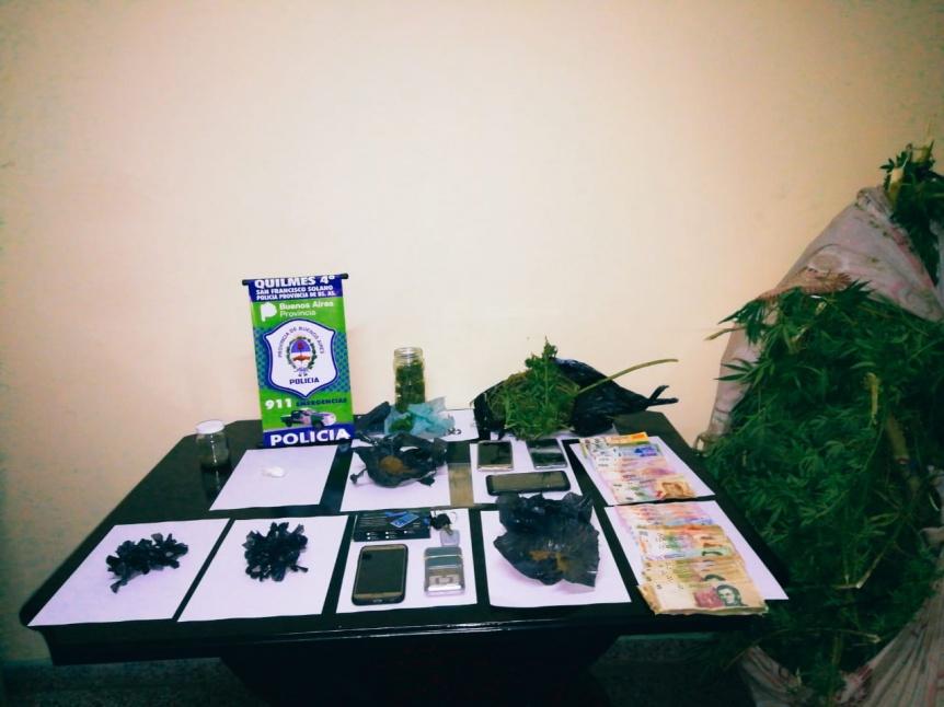 Tres detenidos por narcomenudeo de coca�na y marihuana en Solano