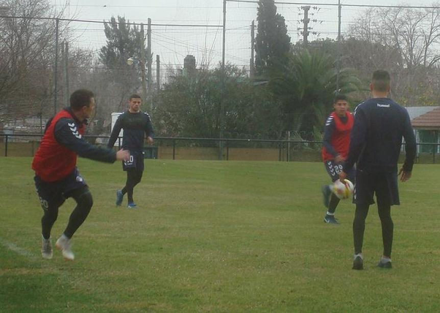 Quilmes trabajó en doble turno y Masuero se sumó al plantel