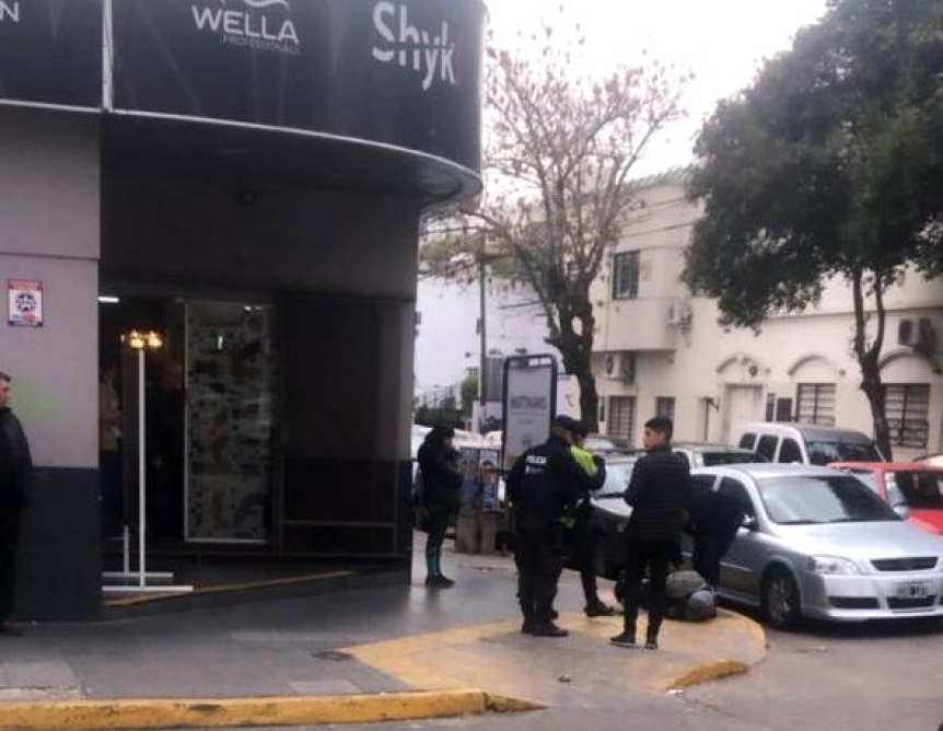 Arrebatador atrapado en pleno centro de Quilmes