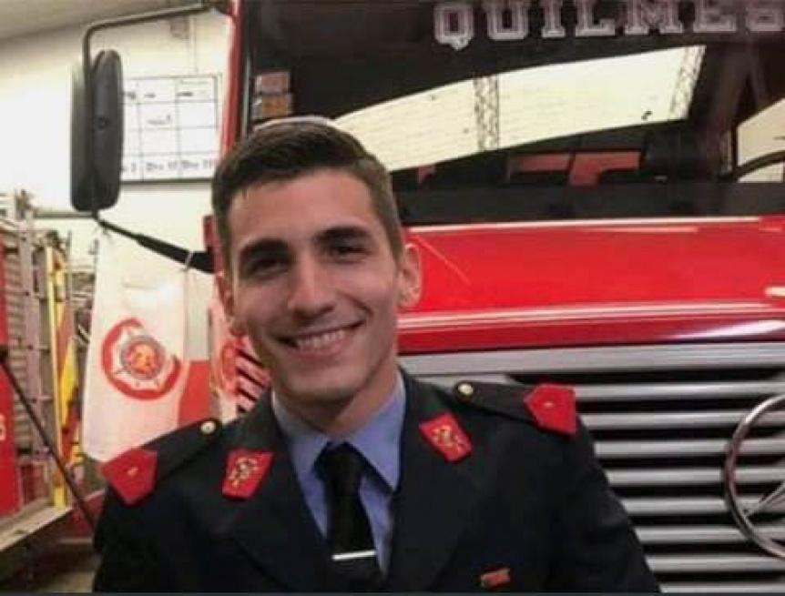 Suspendieron el simulacro de accidente por la muerte de un joven bombero