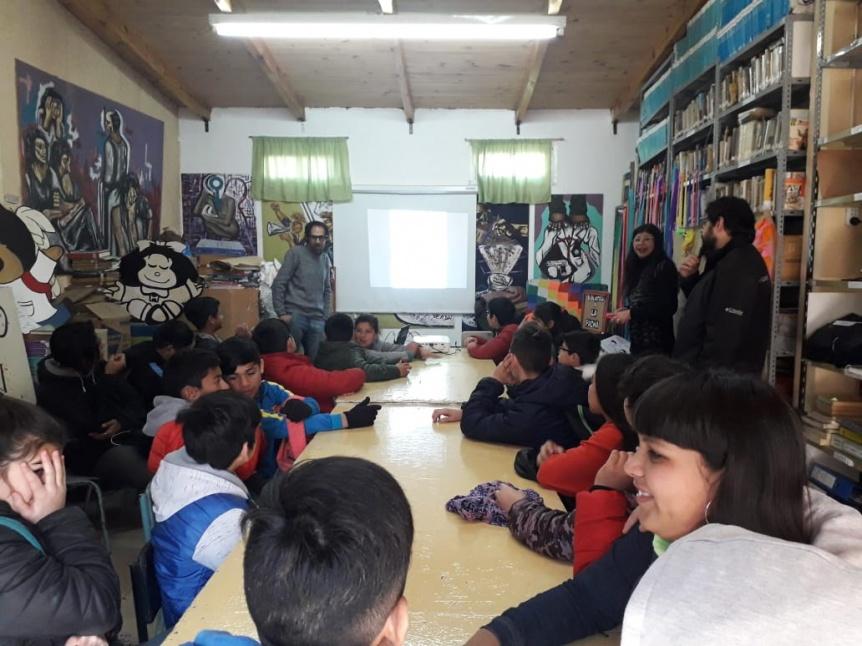 Monte Chingolo: Estudiantes de la Secundaria 54 participaron de un taller sobre Pueblos Originarios