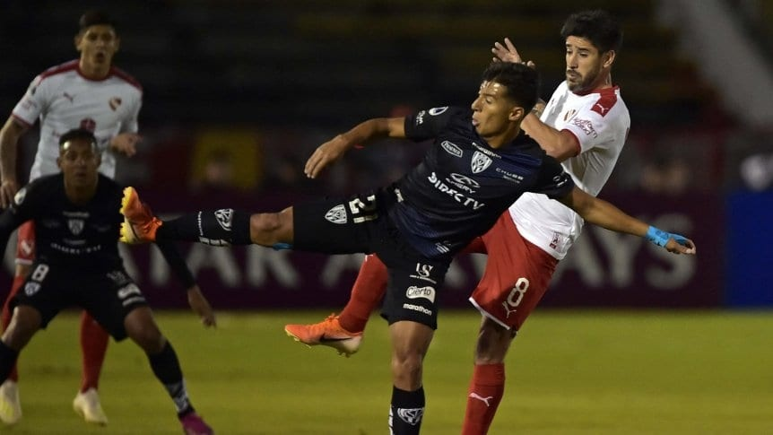 Independiente perdió en Ecuador y quedó eliminado en cuartos de final