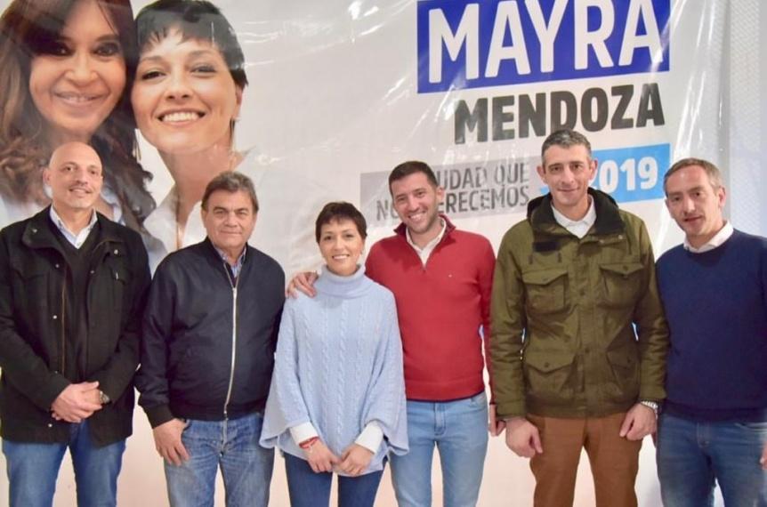 Mayra Mendoza reuni� a todos los precandidatos que participaron de la interna