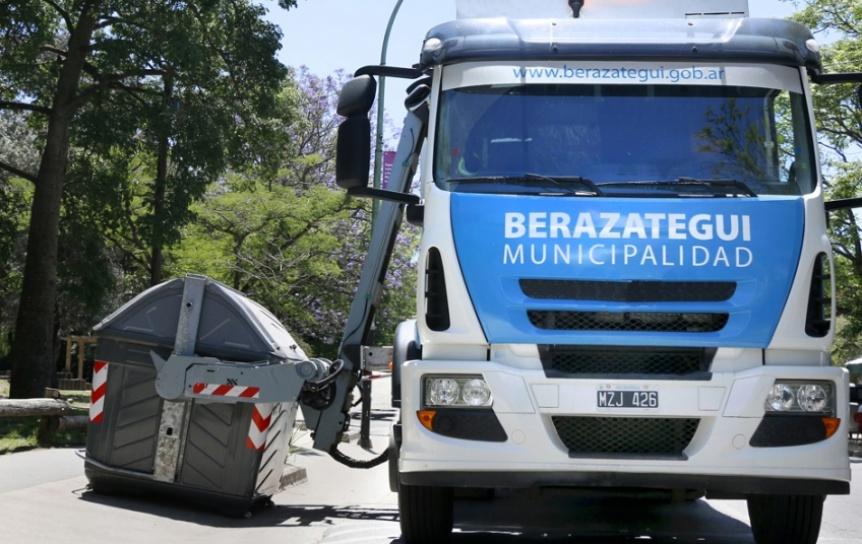 Hoy viernes no sacar la basura en Berazategui por el feriado de ma�ana, s�bado 17 de agosto