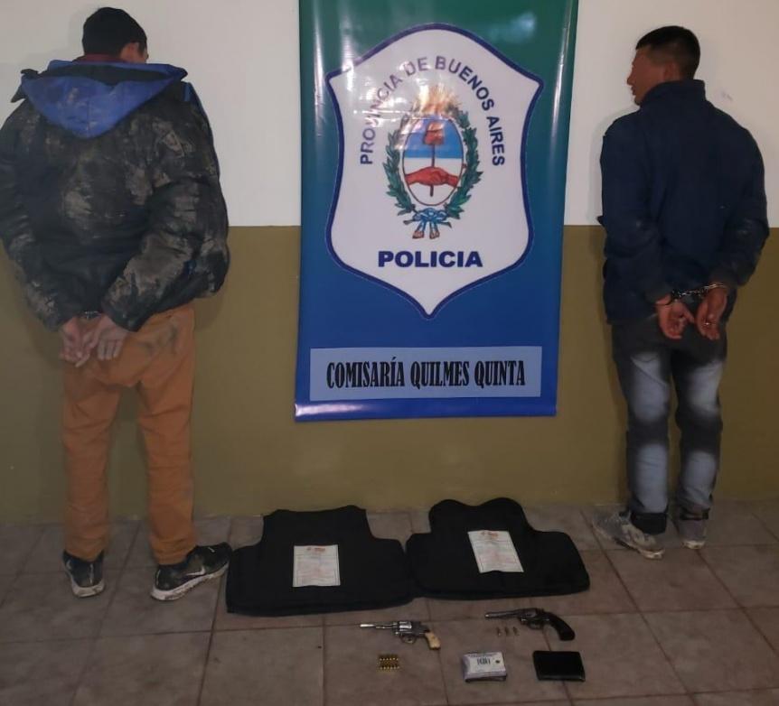 Frustran raid delictivo en el barrio La Paz: Dos detenidos y un prófugo