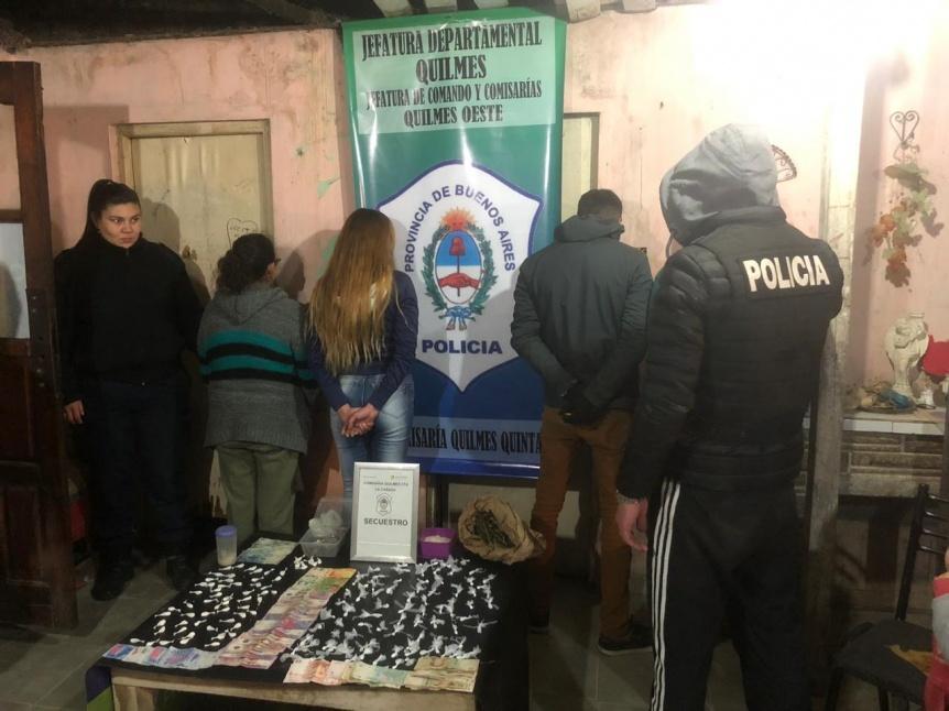 Quilmes: Mujer vendía drogas para pagar el abogado de su hijo narco