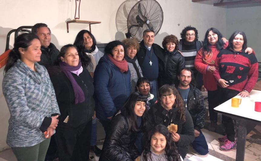 La Di�cesis de Quilmes brind� su apoyo al comedor de COVI y expresaron su preocupaci�n