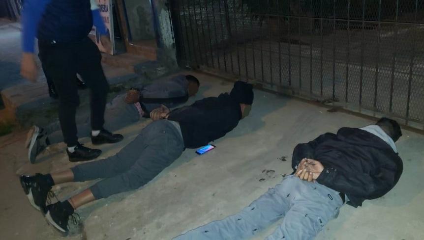 Cayó en Bernal una banda narco buscada en República Dominicana