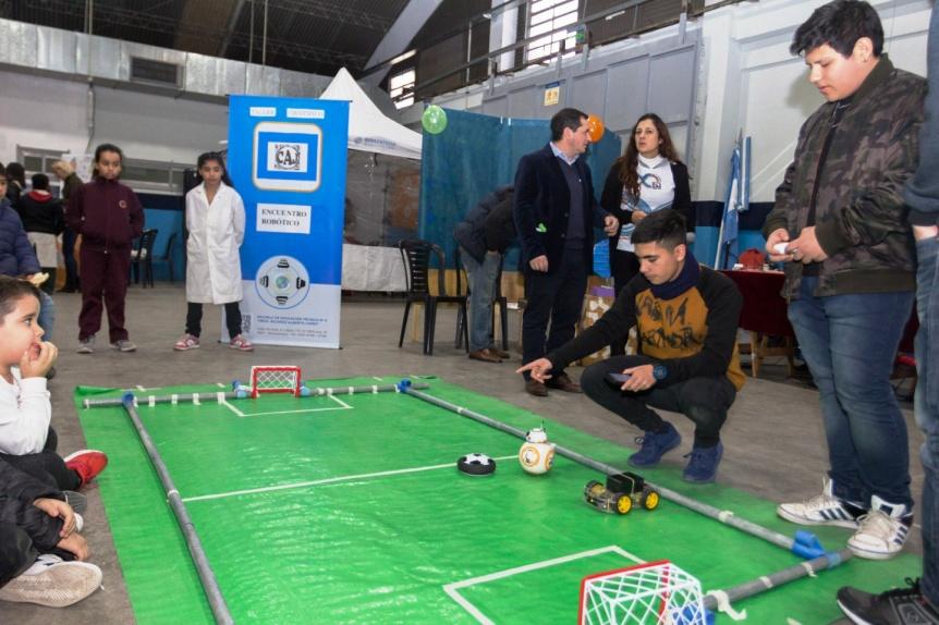 Se viene el 2� Encuentro Rob�tico de Berazategui en el Centro de Actividades Roberto De Vicenzo