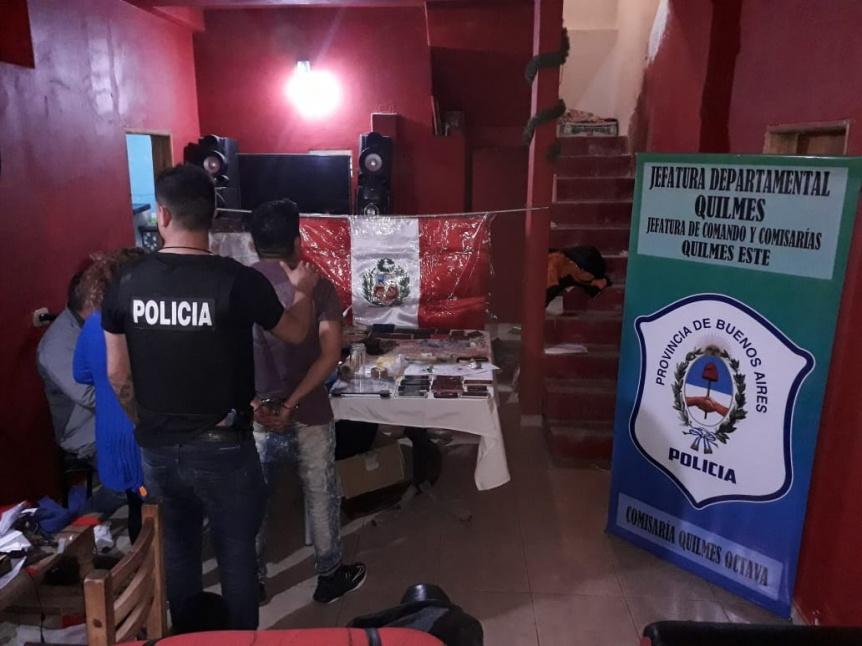 """Desbarataron a la banda narco peruana de """"Los Cholos"""""""