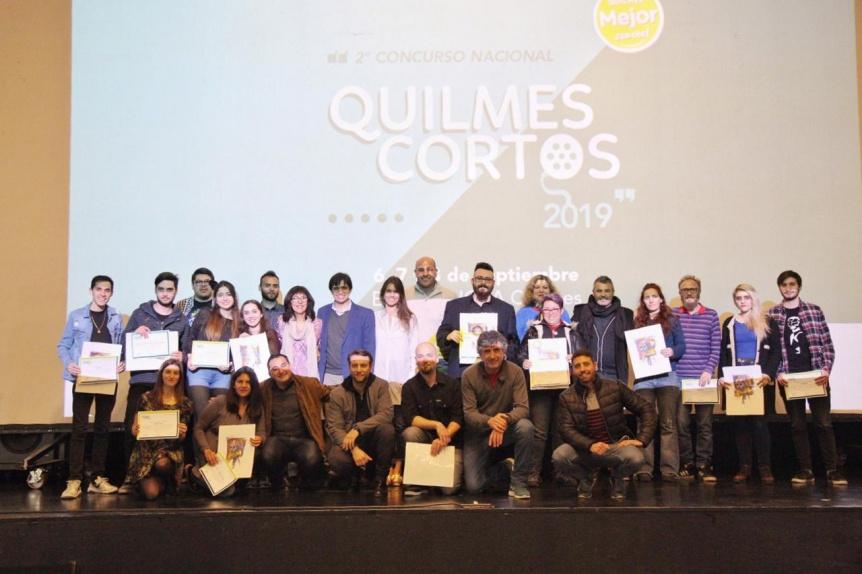 Se anunciaron los ganadores del 2º Concurso Nacional Quilmes Cortos 2019