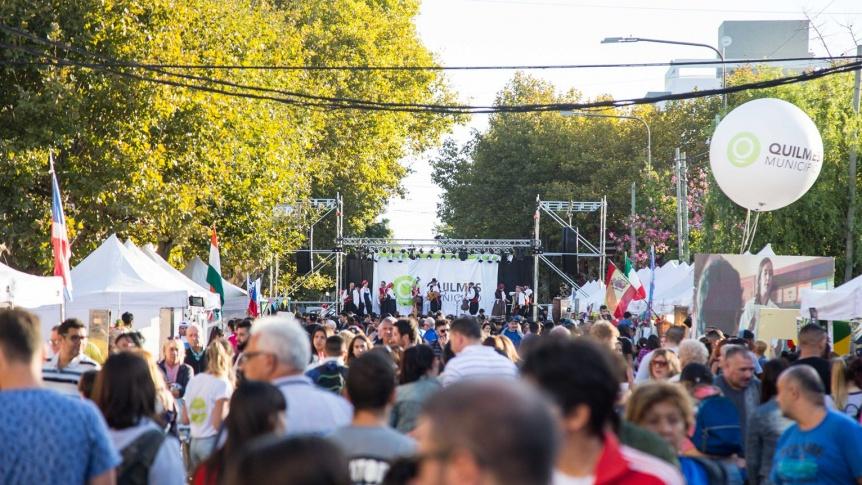 Quilmes celebra la Fiesta de las Colectividades