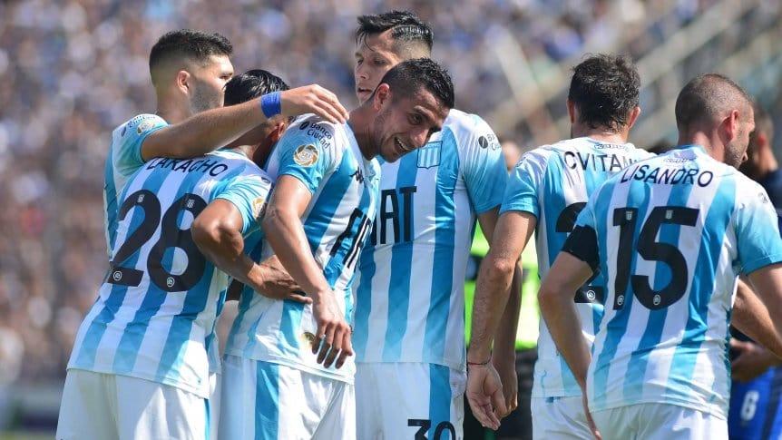 Racing opac� el debut de Diego Maradona y derrot� a Gimnasia LP
