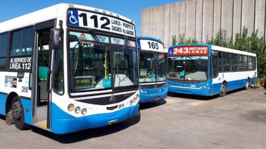 Naci�n eligi� nuevos operadores para restituir el transporte p�blico en las ex l�neas 112 y 165
