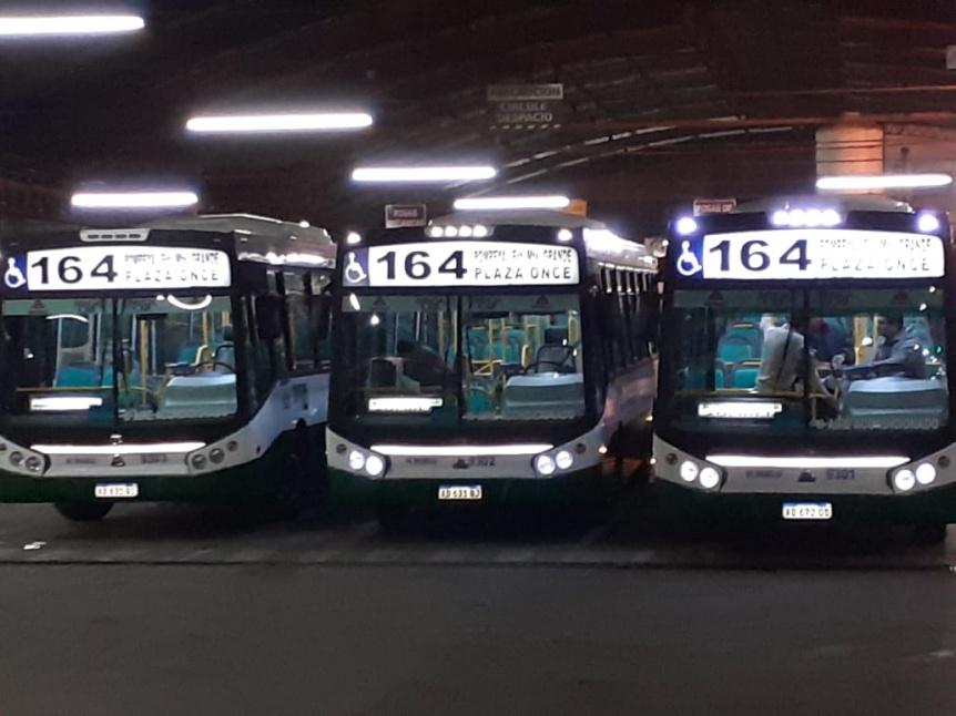 Ya circulan las nuevas l�neas de colectivo 119 y 164