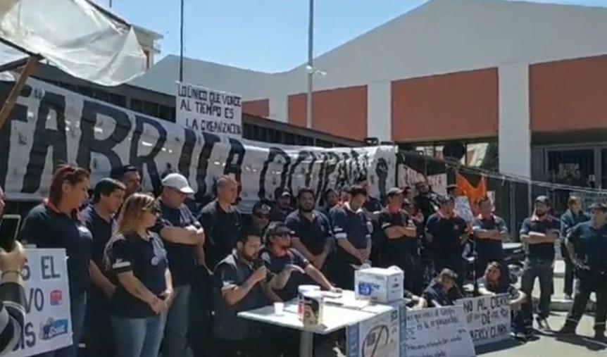 Trabajadores de Kimberly Clark anunciaron una marcha al Municipio este mi�rcoles