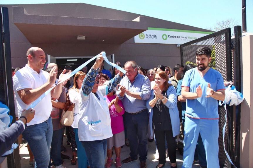 Reinaugur� el Centro de Salud Houssay totalmente renovado